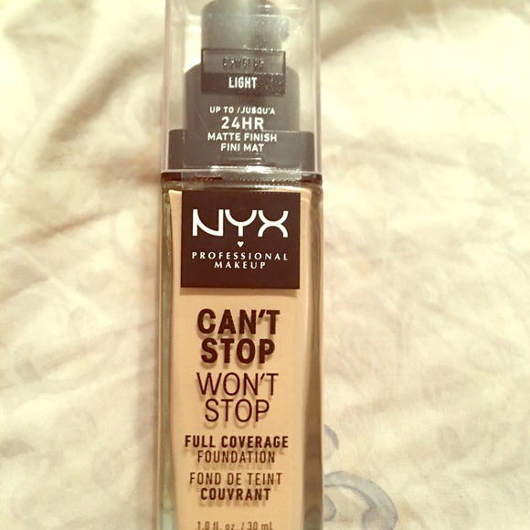 NYX Other - NYX Can't stop won't stop foundation